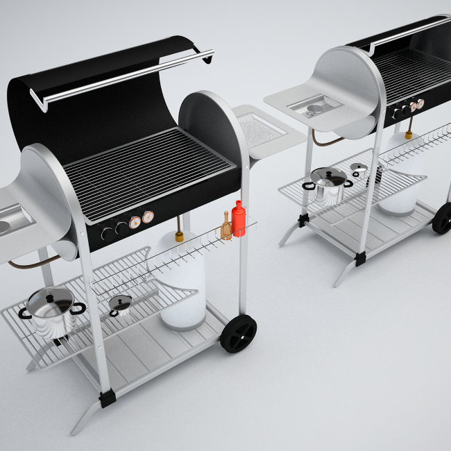 Campingaz gas barbecues