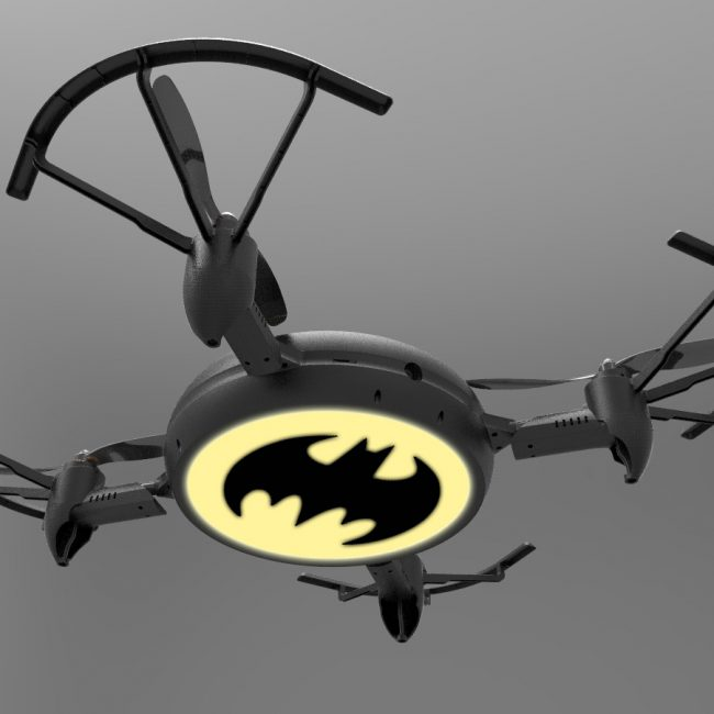Bat signal drone / Warner Brothers