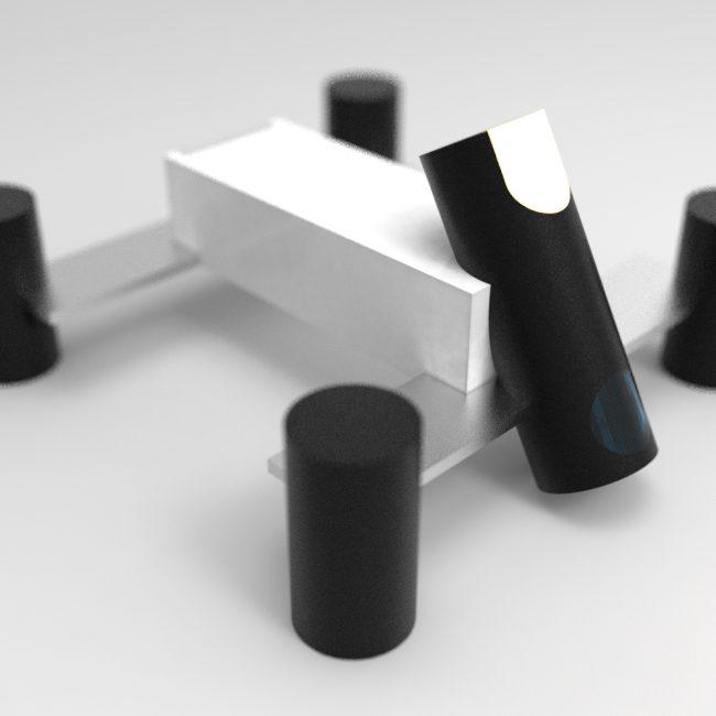 Suprematist camera drone concept